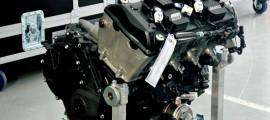 Le moteur équipant le Moto2 du championnat du monde.