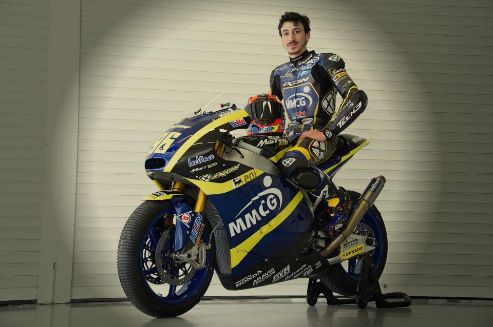 Louis Rossi doit encore trouver ses marques en Moto2. (source : Team Tech3)
