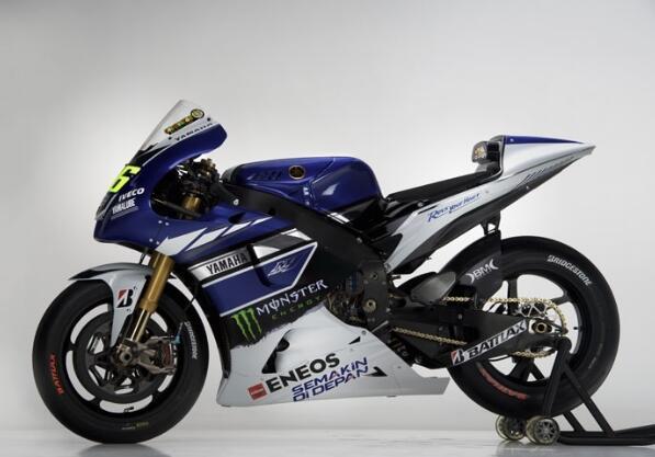YZR-M1 (Valentino Rossi).