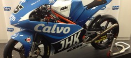 Moto3 du team Calvo.