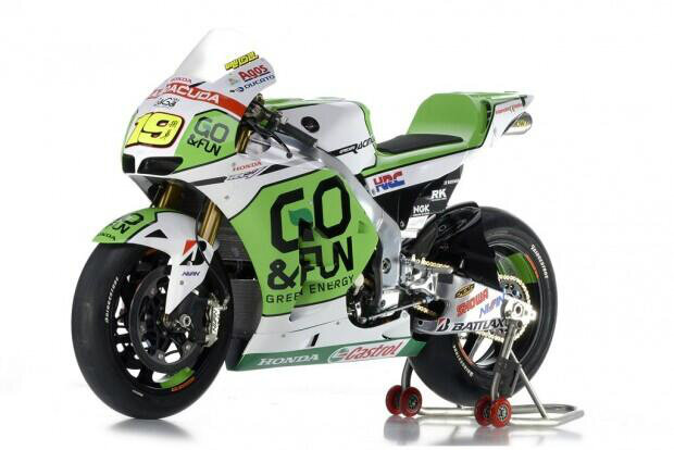 Nouvelles couleurs du team Honda Gresini Go&Fun.