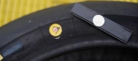 Puce RFID intégrée dans les pneus Moto2 et Moto3.