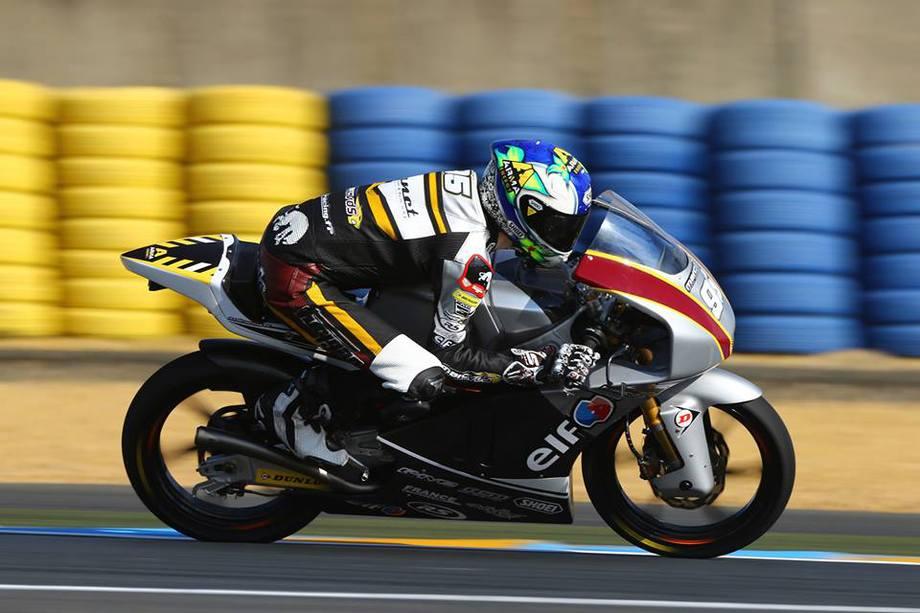 Jules Danilo sur la piste. (Source : Team Marc VDS)