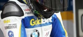 Sylvain se préparant à prendre la piste à Monza, 2013. (Photo : Bertrand Stey - droits réservés)