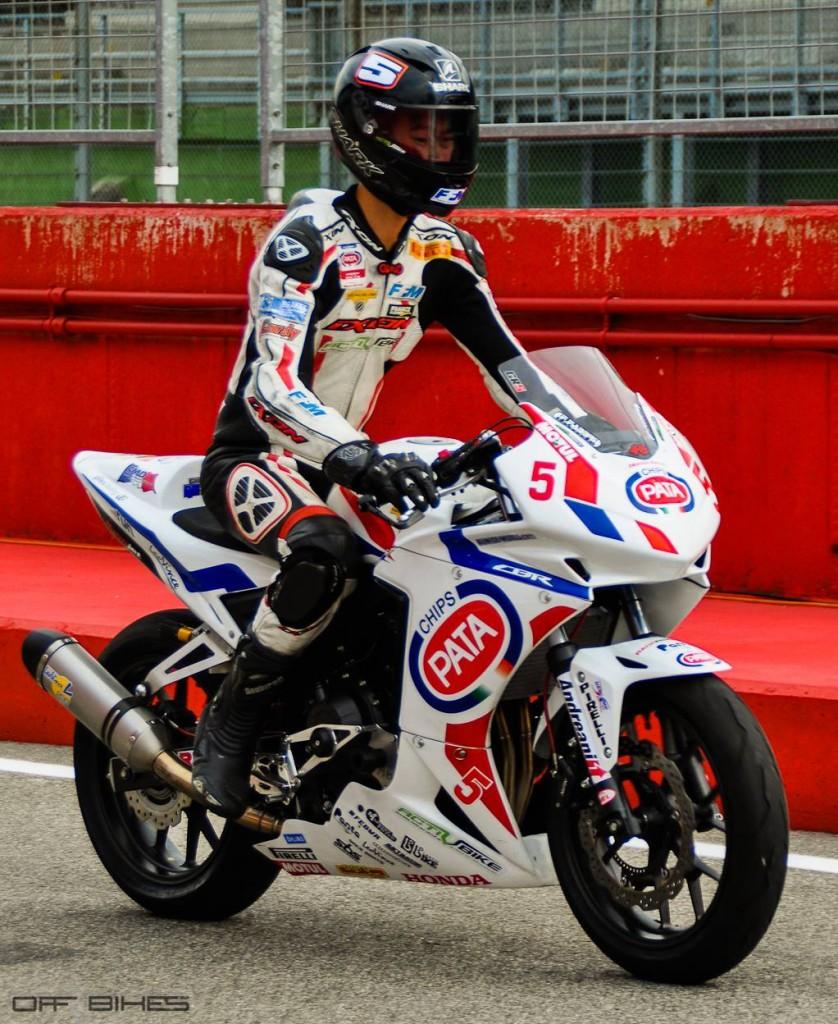Guillaume Raymond, plus rapide de cette journée dans la catégorie EJC. (Photo : ©OffBikes)