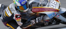 Jules Danilo lors du GP de France 2013, au Mans, portant les couleurs du Team Marc VDS. (Photo :