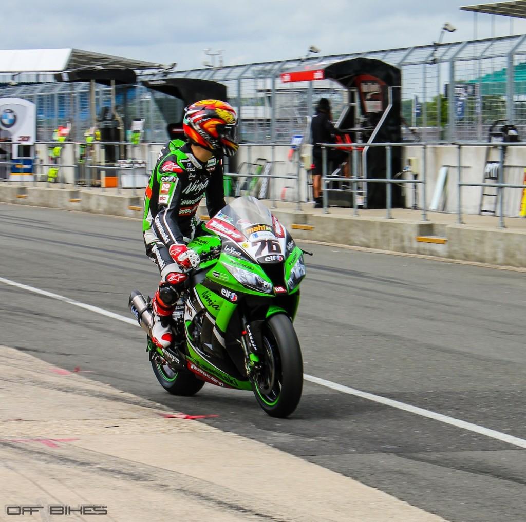 Loris Baz challenger de cette édition à Silverstone. (Photo : OffBikes)
