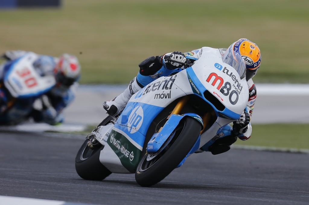 À Indianapolis, Esteve Rabat signe sa 2ème victoire de la saison. (Photo : Team Pons)