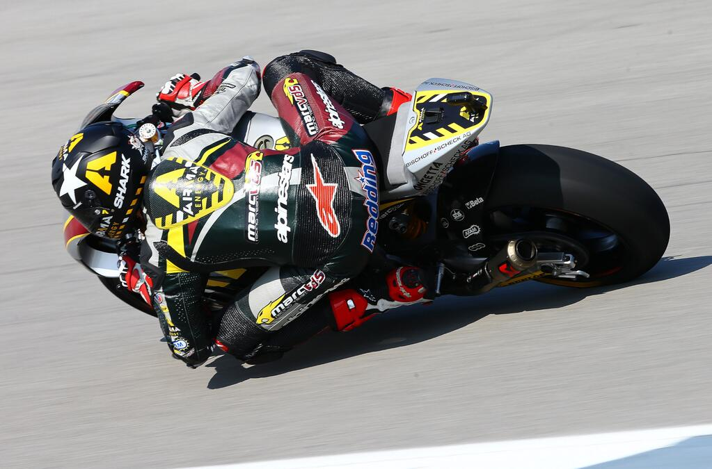 À Indianapolis, Scott Redding signe la 3ème pole position de la saison. (Photo : Scott Redding)