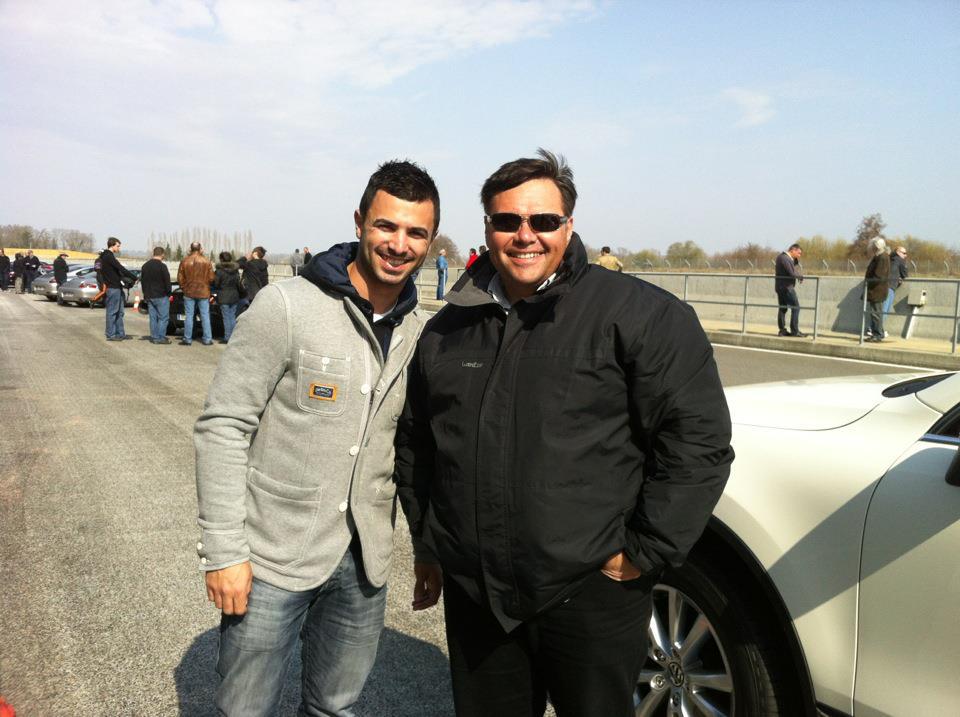 Mike Di Meglio et Éric Garcia. (Photo : Éric Garcia)