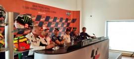 Conférence de presse du GP de San Marin : Honda privé et boîte seamless au coeur des discussions. (Photo : Yamaha MotoGP)