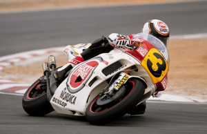 Wayne Rainey durant la saison 1993. (Photo : Yamaha Motor)