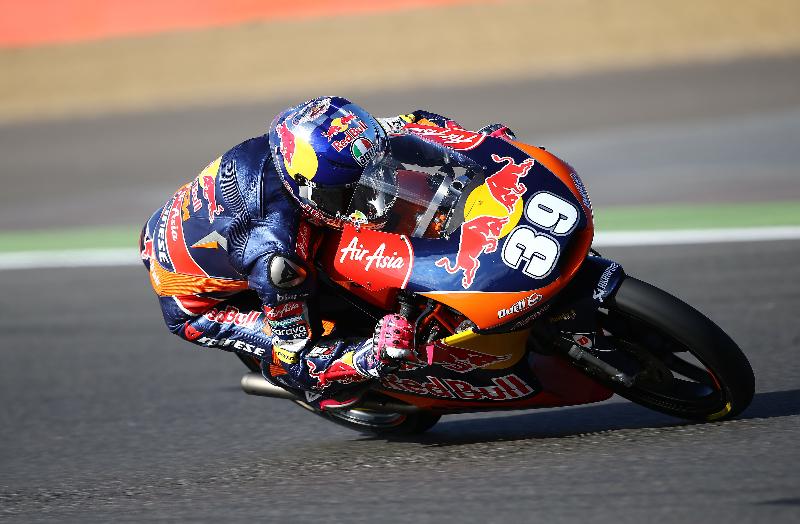 Luis Salom, 6 victoires cette saison. (Photo : Ajo Motorsport)