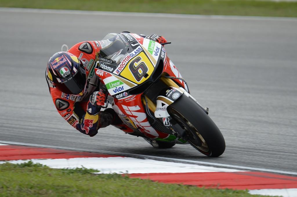 Stefan Bradl forfait pour la course sur le circuit de Sepang. (Photo : LCR).
