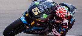 Johann Zarco sera encore sur une Suter la saison prochaine dans l'équipe Caterham Racing. (Photo : Thomas/OffBikes)