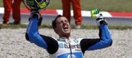 Pol Espargaro peut souffler. Il intégrera l'équipe Yamaha Tech3 MotoGP avec le titre Moto2 en poche. (Photo : Motociclismo)