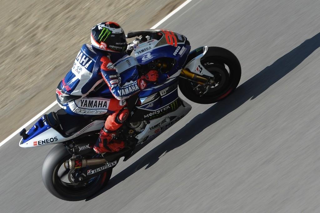 Jorge Lorenzo récupère 5 points à Marc Marquez qui désormais 13 point d'avance. (Photo : Yamaha).