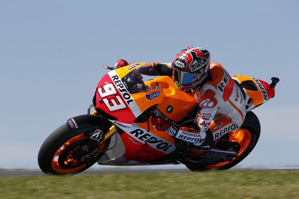 Marc Marquez disqualifié durant la course. Sera-t-il aussi pénalisé à Motegi ? (Photo : Honda Repsol)