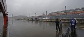 Des conditions climatiques particulières à Motegi (Photo : Repsol Honda)