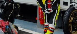 Mathieu Marchal, serein lors de son pitstop en qualification. (Photo : Line Biau/©OffBikes)