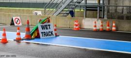 Courses (Superbike et Supersport) réduites de 2 tours si piste mouillée. (Photo : OffBikes)