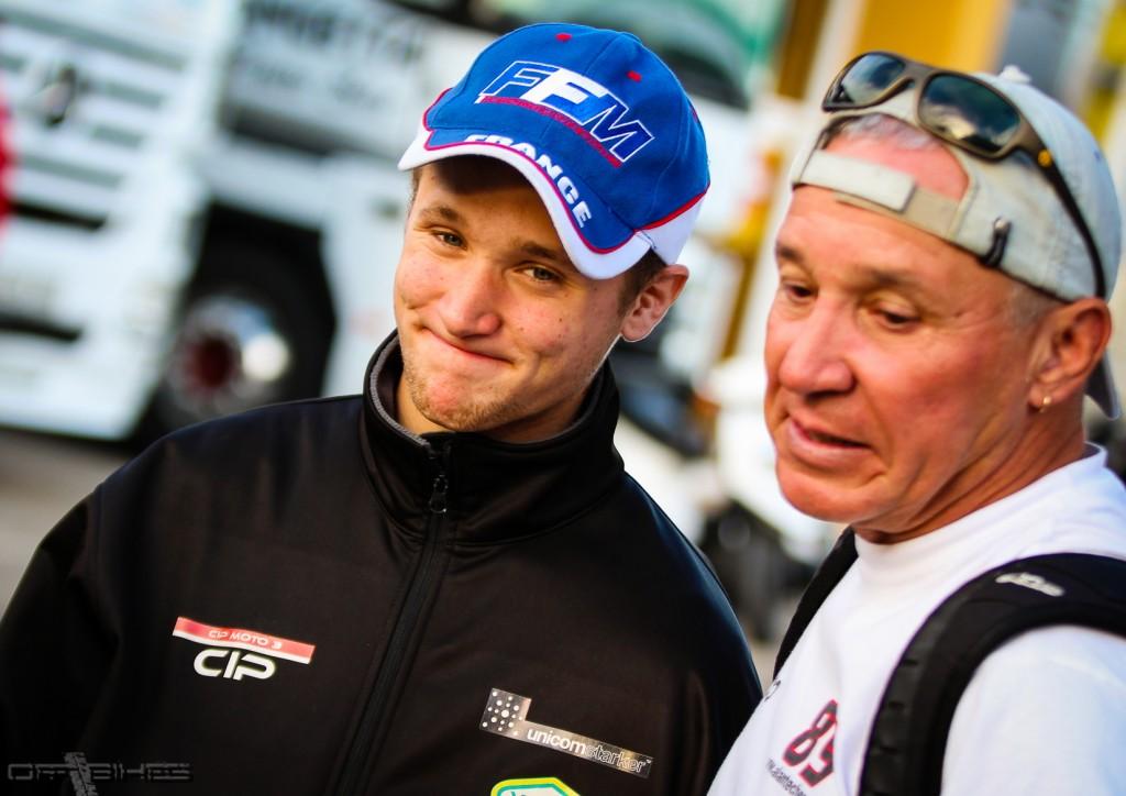 Alan Techer est déçu de sa chute et de cette fin de saison. Le CEV semble la piste envisagée en 2014 pour le pilote Français. (Photo : Thomas/OffBikes)