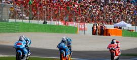 Maverick Viñales, Champion du Monde Moto3. Alex Rins devra s'incliner. (Photo : Thomas/OffBikes)