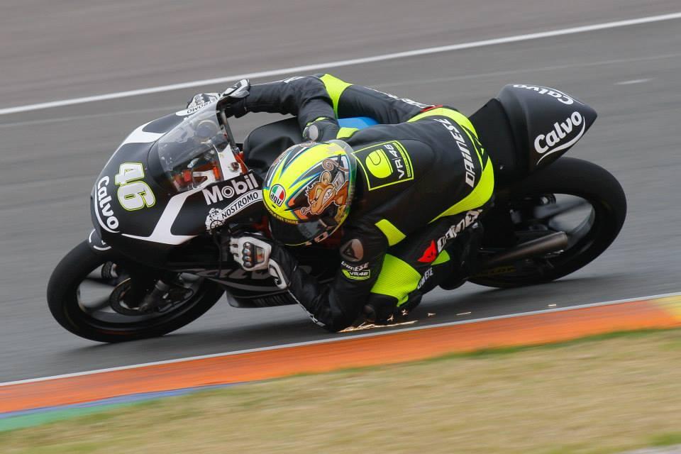 Nicolo Bulega, pilote de l'équipe Calvo KTM et membre de la VR46 Riders Academy. (Photo : Nicolo Bulega)
