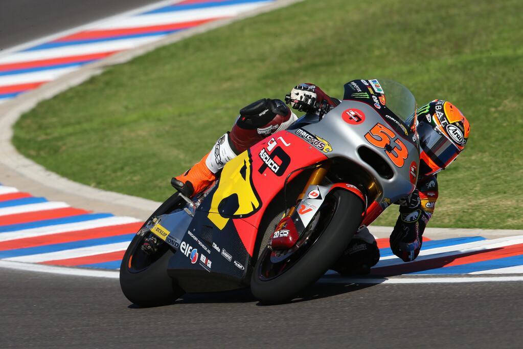 Esteve Rabat, troisième pole position d'affilée. (Photo : Marc VDS)