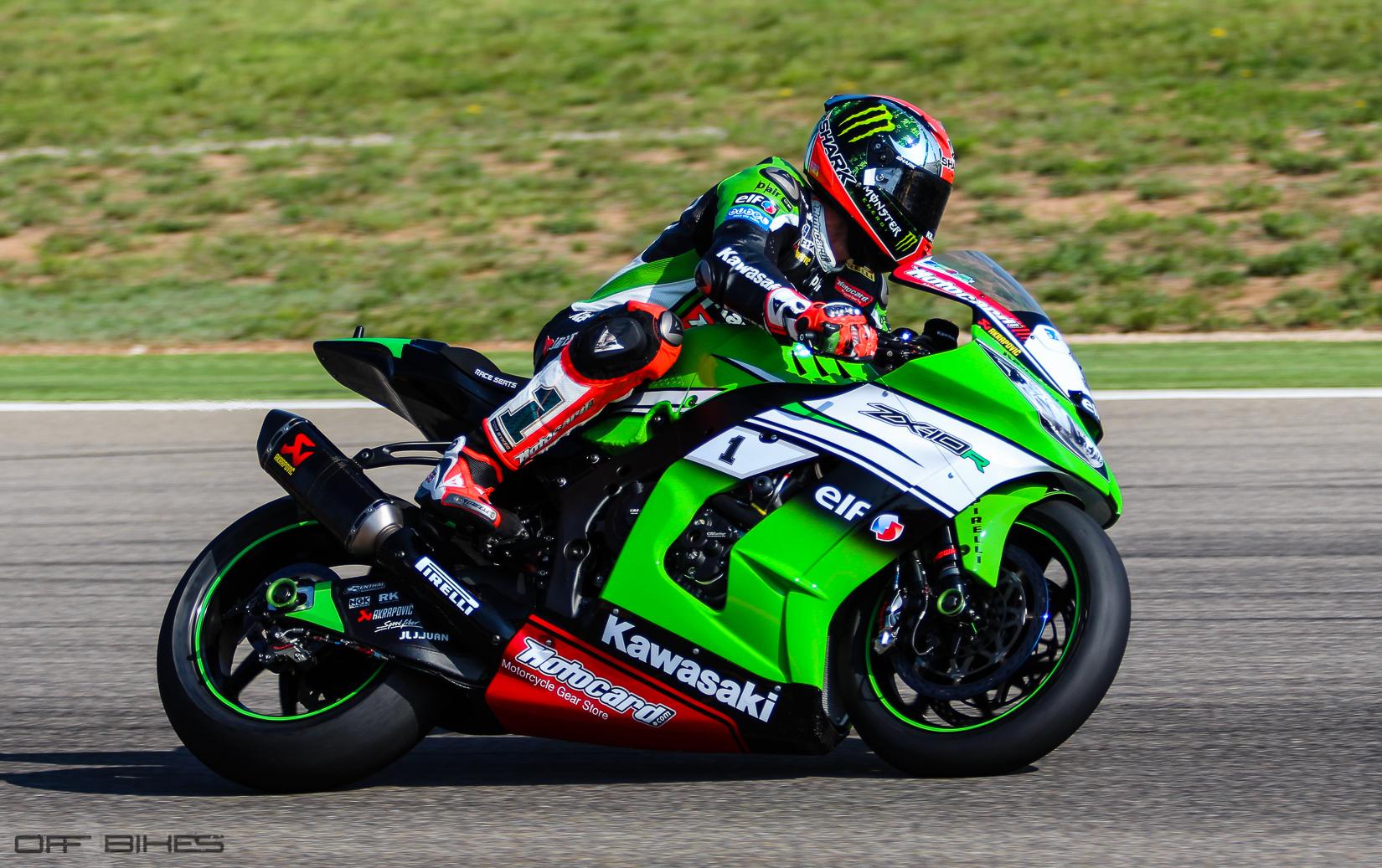 Tom Sykes et Loris Baz signent deux podiums sur le MotorLand Aragón. (Photo : OffBikes)