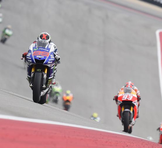 Jorge Lorenzo et Marc Marquez, l'ambiance de la saison 2014. (Photo : Yamaha Movistar)