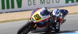 Alan Techer sur la Mistral Moto2 à Jerez en avril dernier. (Photo : ©DR)