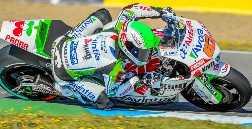Mike Di Meglio progresse étape par étape sur l'Avintia GP. (Photo : Tom/OffBikes)