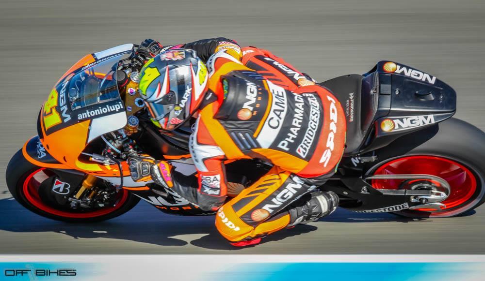 Aleix Espargaro meilleur temps au combiné des séances libres 1 et 2 à Jerez. (Photo : ©OffBikes)