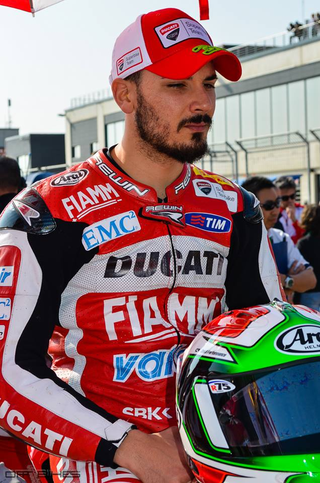 Davide Giugliano signe la seconde Superpole de sa carrière. (Photo : ©OffBikes)