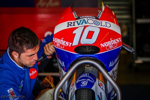 Selon Alexis Masbou, la Honda Moto3 a les capacités de gagner sur toutes les épreuves. (Photo: Tom/OffBikes)