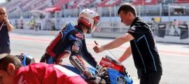 Fabio Quartararo intouchable ce samedi sur le circuit de Barcelone. (Photo : Estrella Galicia Honda)