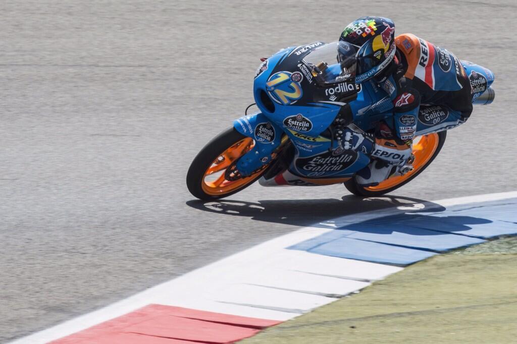 Alex Marquez remporte une deuxième victoire consécutive. (Photo : Estrella Galicia Honda)