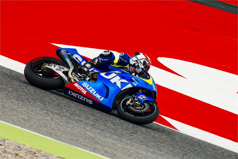 Randy De Puniet déterminé à être sur la grille MotoGP pour la saison 2015. (Photo : Suzuki MotoGP)