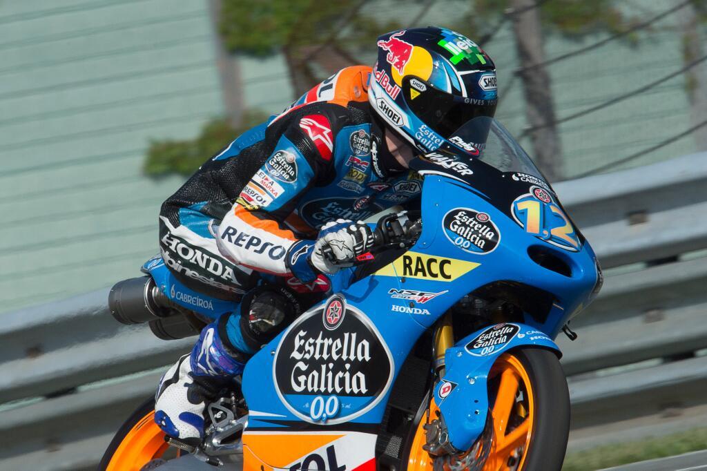 Alex Marquez échoue au pied du podium mais conserve sa place de challenger pour la course au titre avec 19 points d'écart face à Jack Miller (Photo : Estrella Galicia)