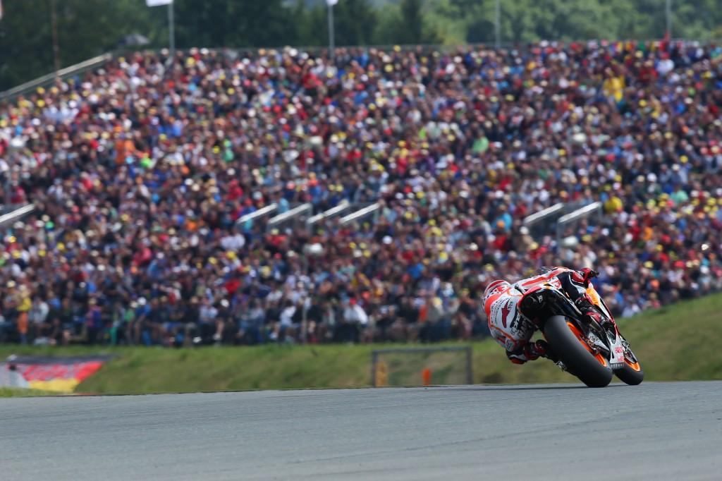 Marc Marquez, 9 victoires et seul au monde. (Photo : Honda Repsol)