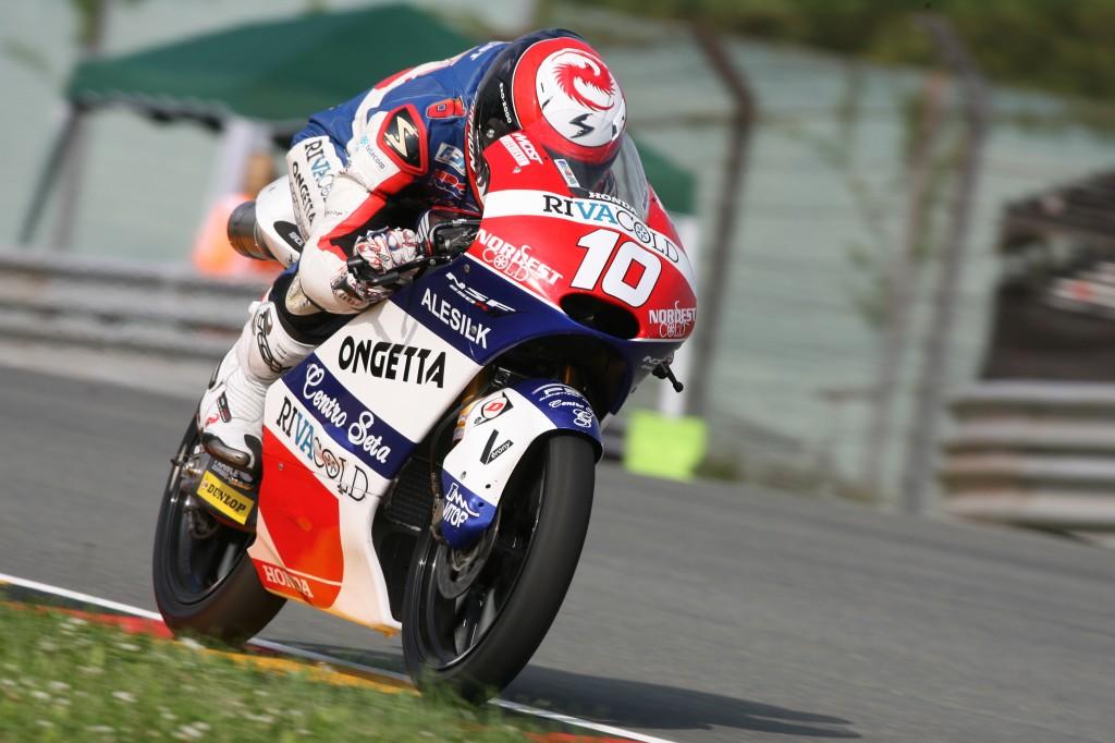 Pour Alexis Masbou, la Moto2 reste une priorité en 2015 mais il ne se ferme pas la possibilité de rester en Moto3 avec Honda. (Photo : Christian Bourget - Sports Images)
