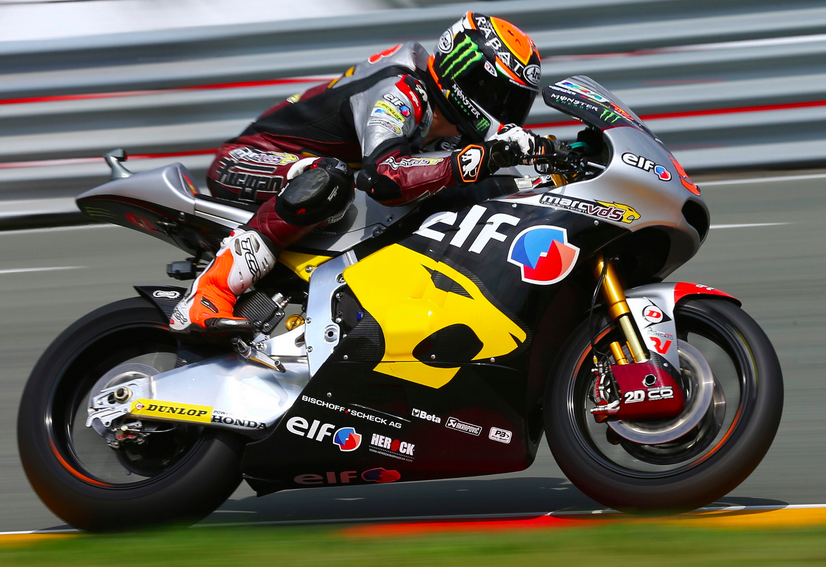 Esteve Rabat manque la pole position  et s'incline face à son coéquipier. (Photo : Marc VDS Team)