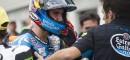 Alex Rins remet les pendules à l'heure et efface son erreur de Brno. (Photo : Estrella Honda).