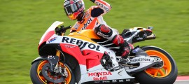 Marc Marquez s'empare de sa 11ème victoire cette saison. (Photo : Honda Repsol)