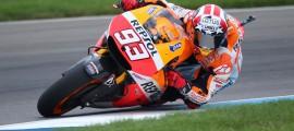 8ème pole position pour Marc Marquez cette saison. (Photo : Repsol Honda).