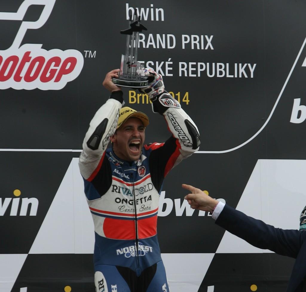 Fort de sa victoire à Brno, Alexis Masbou mise beaucoup sur le projet Moto2 en compagnie de Louis Rossi. (Photo : Christian Bourget – Sports Images)