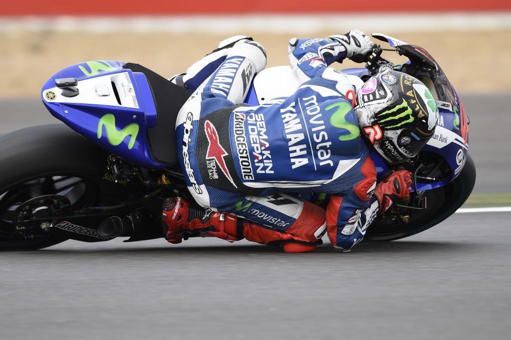 Jorge Lorenzo termine sur le podium après avoir mené la majeure partie de la course. (Photo : Yamaha MotoGP)