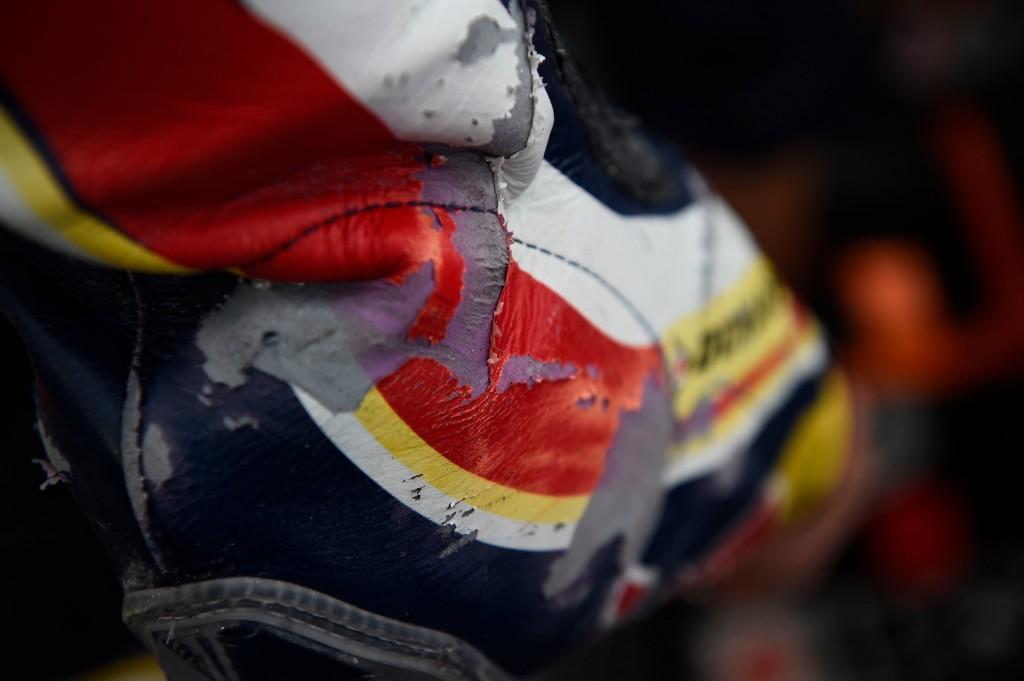 Enzo Boulom récupère la 10ème position malgré un vendredi compliqué. (Photo : Red Bull MotoGP Rookies Cup)