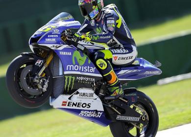 Valentino Rossi s'impose à Misano et offre à Yamaha sa première victoire de la saison. (Photo : ©DR)